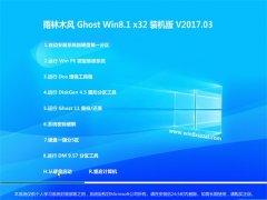 雨林木风 Ghost Win8.1 X32 装机版 v2017.03